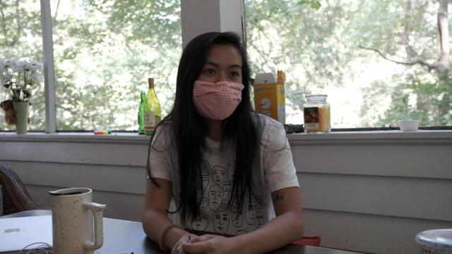The community-wide fear that stemmed from the rapid spread of the virus in Chapel Hill still lingers for Vivian Le, a senior at UNC.