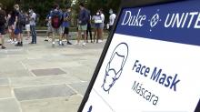 IMAGE: As Duke semester ends, students will take an 'exit test' for the coronavirus