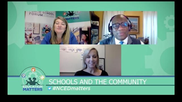 Education Matters: Schools as community partners