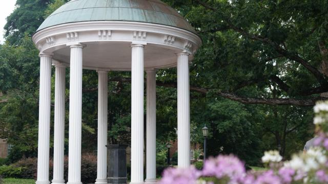 At the heart of the University of North Carolina at Chapel Hill sits the Old Well