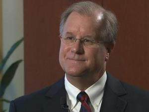 Seven months after he announced his intent to resign as superintendent of the Wake County Public School System, Del Burns is speaking about the divided school board.