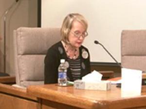 Wake County school board member Carolyn Morrison