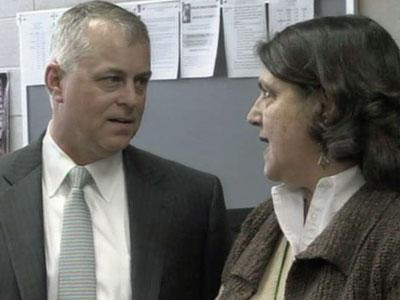 Wake County public schools' new superintendent Tony Tata met with teachers and students at Enloe High on Jan. 31, 2011.