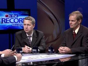 "Andrew Taylor, a political science professor at North Carolina State University, and Bob Phillips, director of Common Cause North Carolina discuss the Wake County school board race in ""On the Record,"" airing 7:30 p.m. on Oct. 22, on WRAL-TV."