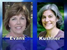 Susan Evans and Christine Kushner