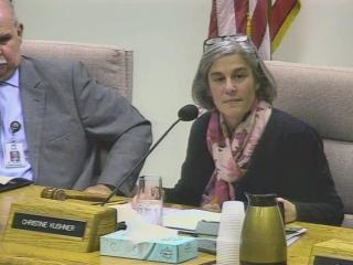 The Wake County Board of Education re-elected Christine Kushner chairwoman during its annual meeting Dec. 2, 2014.
