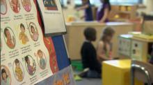 Pre-K classroom, pre-kindergarten