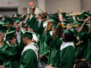 Cary High School Graduation 2016 @ Raleigh Convention Center (Photo By: Beth Jewell/WRAL Contributor)