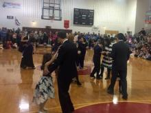 Kids, parents dance at AB Combs inaugural ball