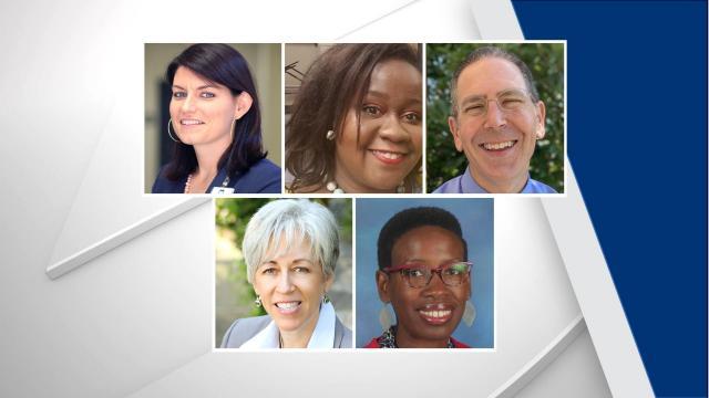 Wake County Principal of the Year finalists