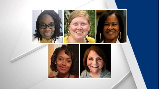 Wake County Assistant Principal of the Year finalists