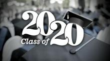 IMAGE: Knightdale High School celebrates Class of 2020 with staggered ceremonies