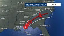 IMAGES: 'Huge rainmaker': Hurricane Sally threatens historic floods