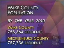 Wake County Population: Beyond The Year 2000