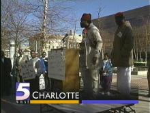 Protest in Charlotte Calls For Police Reform
