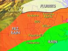 Sleet, Freezing Rain Possible