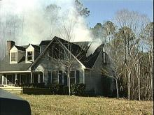 Fran Debris May Have Sparked Fire, Officials Say
