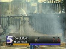 Suspicious Fire at Construction Site