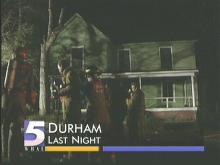 House Burns in Durham