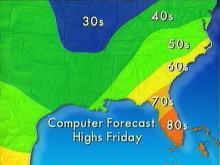 Rain, Freezing Rain, Sleet Fall in Triangle Area