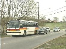 Raleigh Bus Involved in Accident