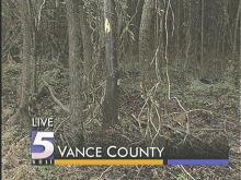 Wooded area where body was discovered