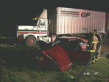 Wreck Injures Two on Beltline