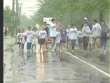 Peace Runners Pass Through Carrboro