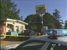 Man Shot at Holly Springs Store