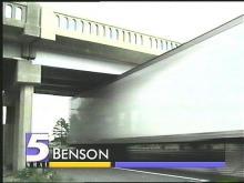 Benson Bridge Hit Again