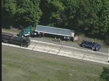 Pickup Truck, Tractor-Trailer Collide on I-85