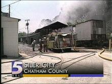 Chicken Plant Catches Fire