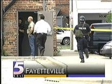 Police Negotiating with Gunman in Fayetteville