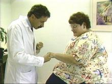 Millie Shook with Dr. Walter Chmelewski