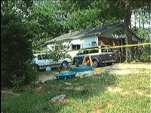 Home where infant was found dead.