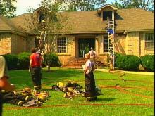 Afternoon Fire Leaves Raleigh Family Homeless