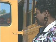Veteran bus driver Elizabeth