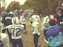 Kids Start Football Careers at Raleigh Superbowl