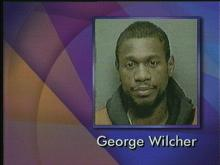 George Wilcher is accused of rape and robbery in Fayetteville.