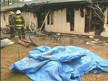 Fire Destroys Garner Home