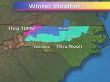The Winter Weather Advisory Area