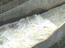 Engineers say the water released from Falls Lake Dam will not cause serious flooding. (WRAL-TV5 News)
