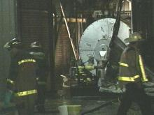 An early morning fire broke out in the area of a boiler near Meredith College's dining hall. (WRAL-TV5 News)