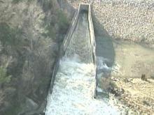 Wayne Watches Falls Dam