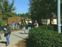Parents worry that schools like Apex High School will become even more crowded. (WRAL TV)