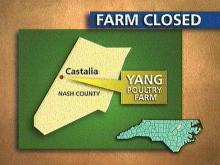 Lagoon levels forced the attorney general to crack down on an egg farm. (WRAL-TV5 News)