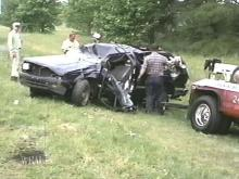A woman died in this accident (WRAL-TV5 News)