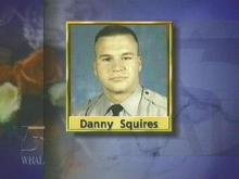 North Carolina State Trooper Danny Squires was electrocuted when he accidentally cut into a power line. (WRAL-TV5 News)