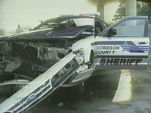 Robeson Deputy Struck by Car, Separate Accident Ties Up I-95