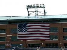 DBAP Sports Oversized Flag Despite Ordinance